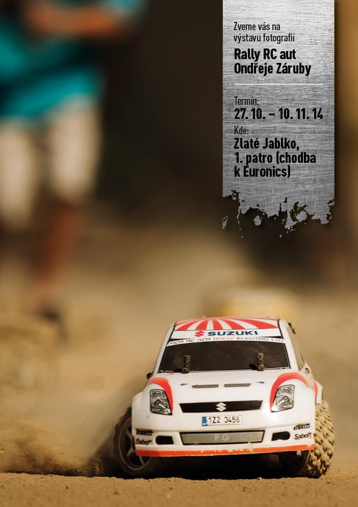 Výstava fotografií Rally RC aut Ondřeje Záruby